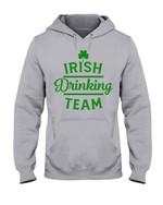 Irsih Drinking Team Green Shamrock St Patrick's Day Hoodie