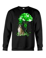 Bullboxer Pit Patrick Balloons St. Patrick's Day Color Changing Sweatshirt