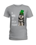 Finnish Lapphund Irish Today Green St. Patrick's Day Ladies Tee