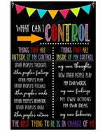 Social Worker What Can I Control Meaningful Gift Vertical Poster