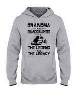 Bump Fit Grandma And Granddaughter The Legend And The Legacy Hoodie
