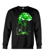 Lhasa Apso Patrick Balloons St. Patrick's Day Color Changing Sweatshirt