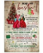 Christmas Gift For Bestie You Are Irreplaceable Vertical Poster