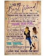 How Special You Are To Me Gift For Bff Vertical Poster