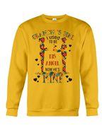 Gift For Autism Angel Grandma I Used To Be His Angel Now He's Mine Sweatshirt