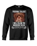 Schnoodle Will Follow You St. Patrick's Day Printed Sweatshirt