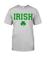 Irish Shamrock Lucky Leaves St Patrick's Day Guys Tee