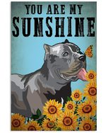 Cane Corso You Are My Sunshine Gift For Dog Lovers Vertical Poster