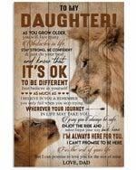 To My Daughter Love You For The Rest Of My Life Vertical Poster