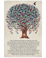 To Mother In Law Thank You For Rasing A Wonderful Daughter Tree Vertical Poster