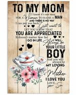 To Mom Your Little Boy Nurse Hat Pattern Vertical Poster