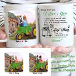 Custom Name And Photo Couple The Best Thing White Printed Mug