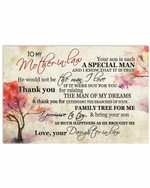 To My Mother In Law Family Tree For Me Tree Horizontal Poster