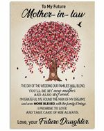 To Mother In Law With The Family It Brings Tree Vertical Poster