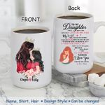 Custom Name And Photo Mom And Daughter Will Stay There Printed Mug