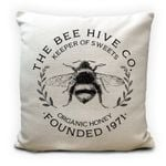 The Bee Hive Co Keeper Of Sweets Printed Cushion Pillow Cover