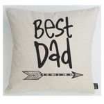 Best Dad Arrow Gift For Dad Pillow Cover