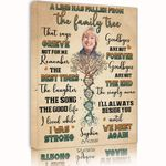 Custom Name And Photo Matte Canvas Gift For Grandma The Song The Good Life