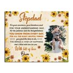 For The Patient And The Thoughtfulness Custom Name Matte Canvas Son Gift For Stepdad