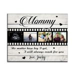 Custom Name Matte Canvas Son Gift For Mommy Always Reach For You