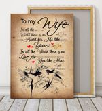 There Is No Love For You Like Mine Gift For Wife Matte Canvas