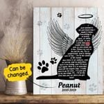 Dog I Made It Home Gift For Dog Lovers Custom Name And Number Matte Canvas