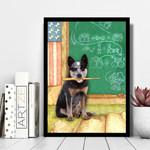 Australian Cattle Dog Teacher Board Gift For Dog Lovers Matte Canvas