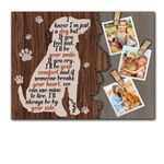 I'll Be Your Smile Gift For Dog Lovers Custom Photo Matte Canvas