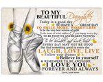 Matte Canvas Mom Gift For Daughter Love Ballet Smile More