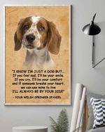Welsh Springer Spaniel By Your Side Matte Canvas Gift For Dog Lovers