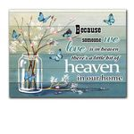 Heaven In Our Home Gift For Angel Lover Matte Canvas