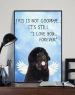 Tibetan Mastiff Not Goodbye Rules Matte Canvas Gift For Dog Lovers