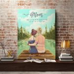 Custom Name Matte Canvas Gift Mom Sunshine Of Our Days