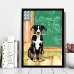 Appenzeller Sennenhunde Teacher Board Matte Canvas Gift For Dog Lovers