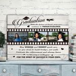 Graduation Gift For Daughter Custom Photo Matte Canvas