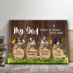 Gift For Dog Lovers Matte Canvas Australian Shepherd That Who You Are