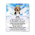 Gift For Dog Lovers You Came Into My Life Custom Name And Number Matte Canvas