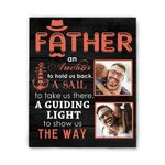 Father An Anchor To Hold Us Back Gift For Dad Matte Canvas
