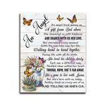 An Angel Lived Among Us Matte Canvas Gift
