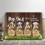Gift For Dog Lovers Matte Canvas Dalmatian That Who You Are