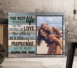 Friends The Best Thing In Life Custom Photo Gift For Bff Matte Canvas