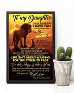 Remember Who You Are Lion Matte Canvas Mom Gift For Daughter