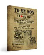 Follow Your Dream Tiger Matte Canvas Mom Gift For Son
