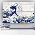 The Spray Of The Top Of Wave Creating Cats Gift For Cat Lovers Matte Canvas