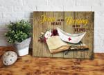 Nursing In My Veins Matte Canvas Gift