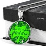 We Like To Paddy | St. Patrick's Day Jewelry | Luxury Necklace