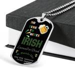 St. Patricks Day Dog-tag Necklace