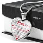 To My Mom - You Always Knew How I Felt Necklace