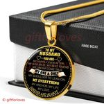 Gift For Husband Necklace You Are My Happily Ever After Soulmate Best Friend