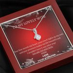 Husband To Wife You're The Best Wife Alluring Beauty Necklace